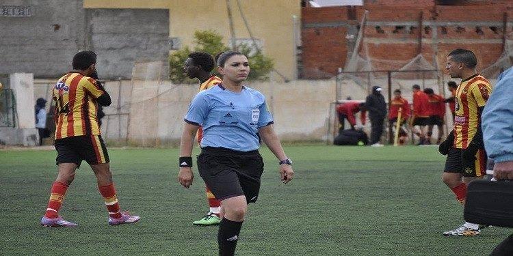 تعيين الحكمة التونسية درصاف القنواطي لقيادة بعض المباريات