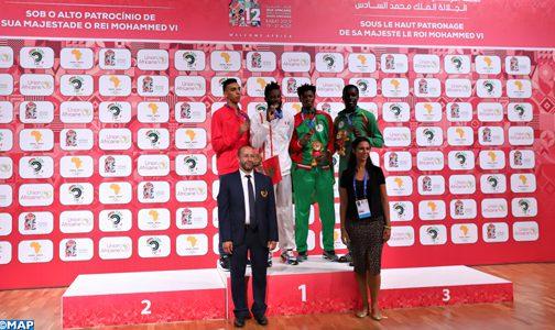 الألعاب الإفريقية.. أشرف محبوبي يحرز فضية وزن أقل من 80 كلغ في رياضة التايكواندو