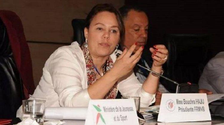 تعيين بشرى حجيج عضو اللجان الأولمبية الوطنية الافريقية
