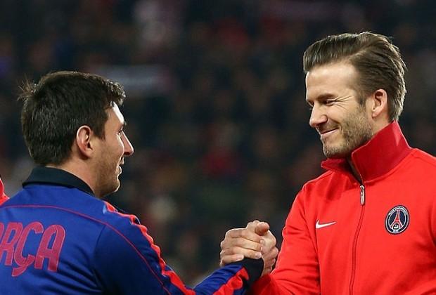 بيكهام يغازل ميسي ويثير الجدل حول مستقبله مع نادي برشلونة - راديو مارس