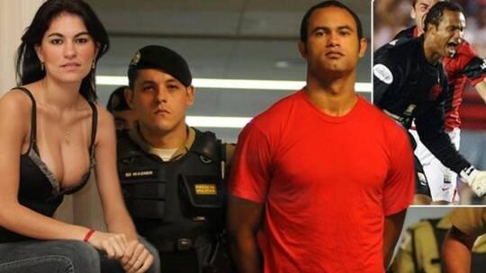 حارس مرمى مذنب بقتل صديقته وإطعام جثتها للكلاب يعود للملاعب