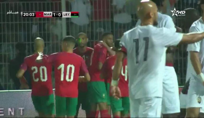 شاهد.. ملخص أهداف الشوط الأول من مباراة المنتخب ضد ليبيا