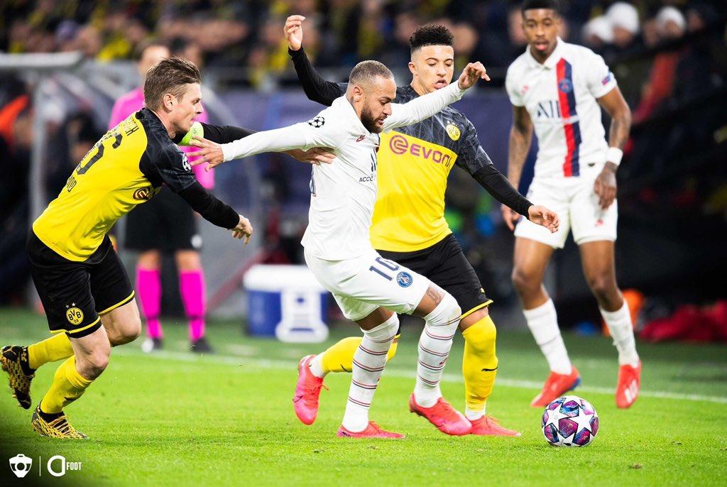 إقامة مباراة باريس سان جيرمان ضد بروسيا دورتموند في دوري ...