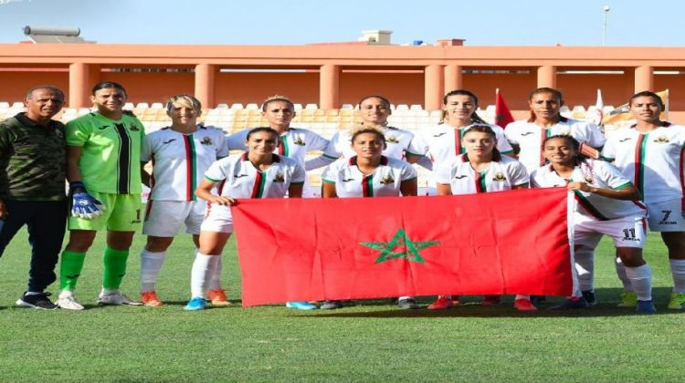 سيدات الجيش الملكي يسحقن بنك الإسكان التونسي بـ10 أهداف